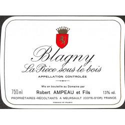 ABAO Etiquettes de vin Blagny - La Pièce sous le bois