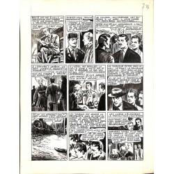 Originaux Dupuy-Franck - Les Joyeux jumeaux et leur scooter. Planche originale 3 [7]