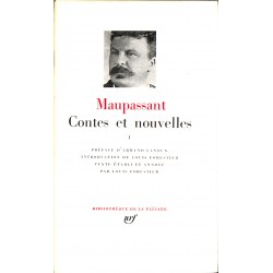 ABAO 1900- Maupassant (Guy de) - Contes et nouvelles 1