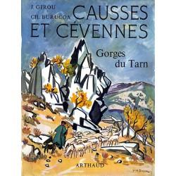 ABAO 1900- Girou (Jean) & Burucoa (Christiane) - Causses et Cévennes.