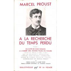 La Pléiade Proust (Marcel) - A la recherche du temps perdu T1 à 3