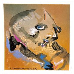 ABAO Originaux Nihoul (Charles) - L'Insinuation. Acrylique sur carton.