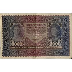 ABAO Billets, actions, monnaies Polska Krajowa Kasa Pozyczkowa Republic 1920