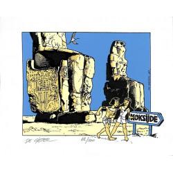 ABAO Bandes dessinées De Gieter (Lucien) - Papyrus. Koksijde 1987. TL 100 ex. num. & s.
