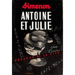 ABAO Littérature populaire Simenon (Georges) - Antoine et Julie.