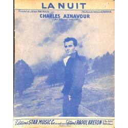 ABAO Partitions Aznavour (Charles) - La Nuit.