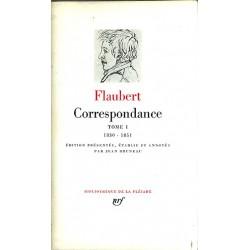 ABAO La Pléiade Flaubert (Gustave) - Correspondance Tome I