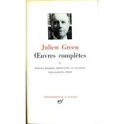 1900- Green (Julien) - Oeuvres complètes V.
