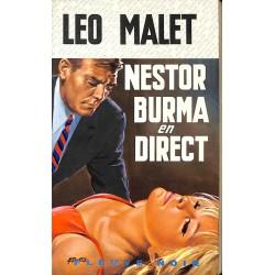 ABAO 1900- Malet (Léo) - Nestor Burma en direct.