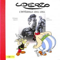 Bandes dessinées [Uderzo (Albert)] Cauvin (Philippe) et Duchêne (Alain) - Uderzo, l'intégrale 1941-1951.