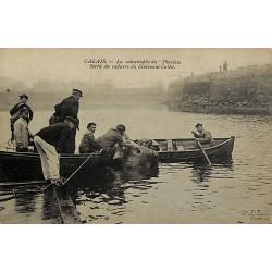 ABAO 62 - Pas-de-Calais [62] Calais - La Catastrophe du Pluviôse. Sortie du cadavre du lieutenant Callot.