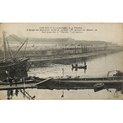 ABAO 62 - Pas-de-Calais [62] Calais - La Catastrophe du Pluviôse. L'équipe des Sauveteurs avant la plongée.