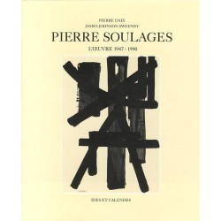 1900- [Soulages (Pierre)] Daix (Pierre) et Sweeney (James J.) - Pierre Soulages : L'Oeuvre 1947-1990.