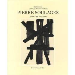 ABAO 1900- [Soulages (Pierre)] Daix (Pierre) et Sweeney (James J.) - Pierre Soulages : L'Oeuvre 1947-1990.