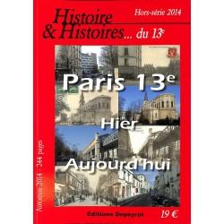 ABAO 1900- [Paris] Histoire et Histoires... du 13e. 14 numéros + HS 2014.