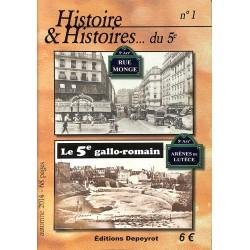 ABAO 1900- [Paris] Histoire et Histoires... du 5e. 3 numéros.