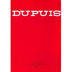 Bandes dessinées [Dupuis] Plaquette de présentation des éditions Dupuis, illustrée par Frédéric Jannin.