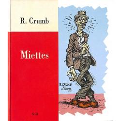 Bandes dessinées Crumb (Robert) - Miettes