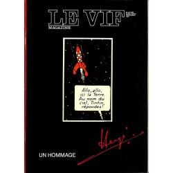 ABAO Bandes dessinées [Hergé] Le Vif - Un Hommage Hergé.