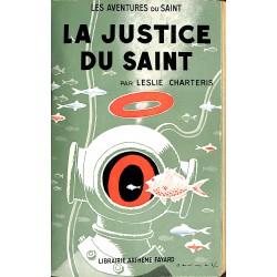 ABAO Littérature populaire Charteris (Leslie) - La Justice du Saint.