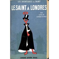 ABAO Littérature populaire Charteris (Leslie) - Le Saint à Londres.