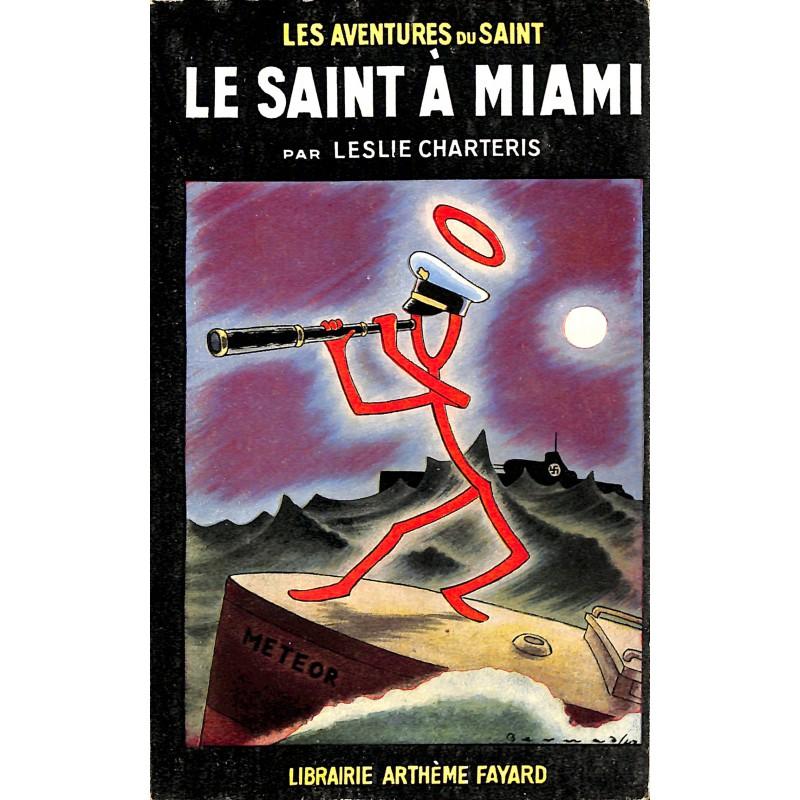 ABAO Littérature populaire Charteris (Leslie) - Le Saint à Miami.