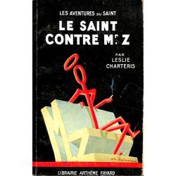ABAO Littérature populaire Charteris (Leslie) - Le Saint contre Mr. Z.