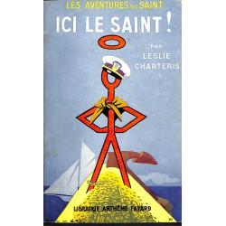 ABAO Littérature populaire Charteris (Leslie) - Ici le Saint !