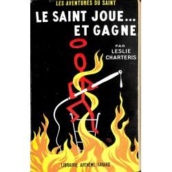 ABAO Littérature populaire Charteris (Leslie) - Le Saint joue ... et gagne.