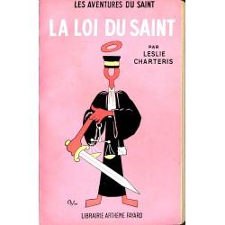 ABAO Littérature populaire Charteris (Leslie) - La Loi du Saint.