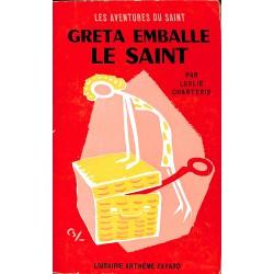 ABAO Littérature populaire Charteris (Leslie) - Greta emballe le Saint.