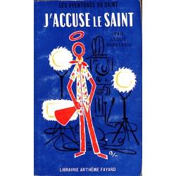 ABAO Littérature populaire Charteris (Leslie) - J'accuse le Saint.