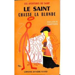 ABAO Littérature populaire Charteris (Leslie) - Le Saint chasse la blonde.