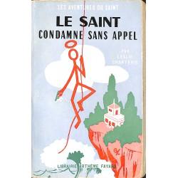 ABAO Littérature populaire Charteris (Leslie) - Le Saint condamne sans appel.