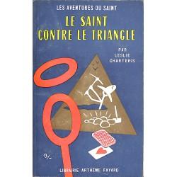 ABAO Littérature populaire Charteris (Leslie) - Le Saint contre le Triangle.
