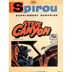 ABAO Bandes dessinées Spirou supplément surprise 1506 - Steve Canyon