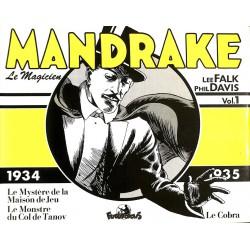ABAO Bandes dessinées Mandrake (Futuropolis) 01