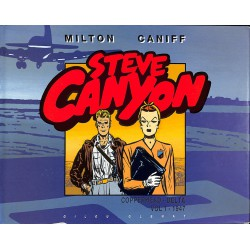 ABAO Bandes dessinées Steve Canyon (Glenat-Gilou) 01