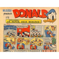 Bandes dessinées Donald 1950/06/18 n°169