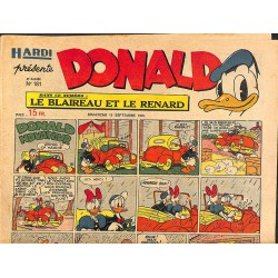Bandes dessinées Donald 1950/09/10 n°181