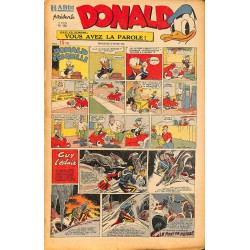 ABAO Bandes dessinées Donald 1950/03/19 n°156