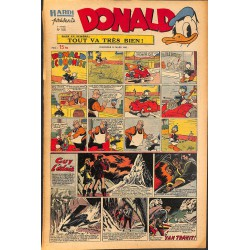 ABAO Bandes dessinées Donald 1950/03/12 n°155