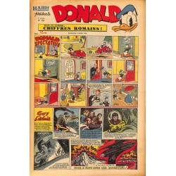 ABAO Bandes dessinées Donald 1950/03/05 n°154