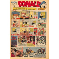 ABAO Bandes dessinées Donald 1950/02/26 n°153