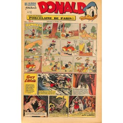 ABAO Bandes dessinées Donald 1950/02/19 n°152
