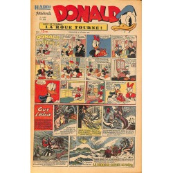 ABAO Bandes dessinées Donald 1950/02/12 n°151