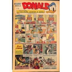 ABAO Bandes dessinées Donald 1950/02/05 n°150