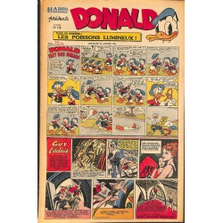 ABAO Bandes dessinées Donald 1950/01/29 n°149