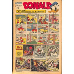 ABAO Bandes dessinées Donald 1950/01/22 n°148