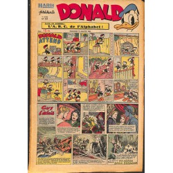 ABAO Bandes dessinées Donald 1950/01/15 n°147